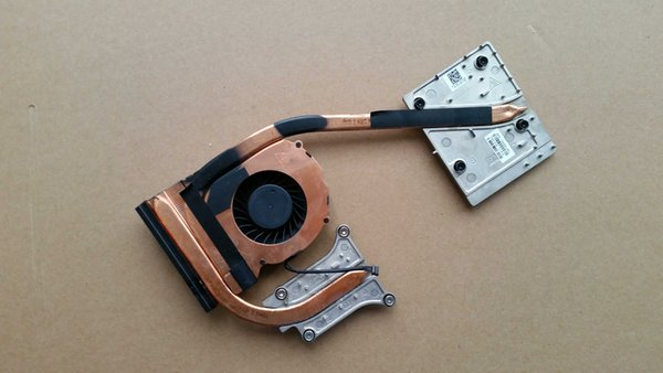 Cooling fan With Heatsink For HP ZBook 15 Laptop Series 734291-001 AT0TJ001FA0 4pin DC5V 0.5A DFS531005PL0T