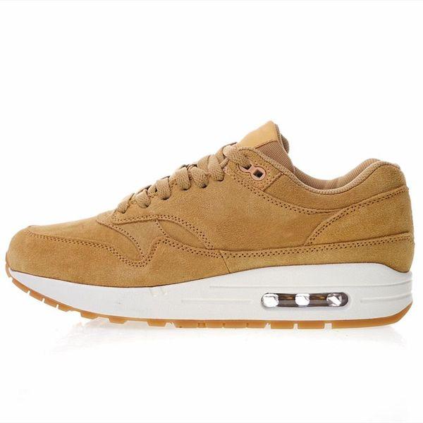 Совершенно новый 87 льна пшеницы кроссовки коричневые мужские ботинки спортивная