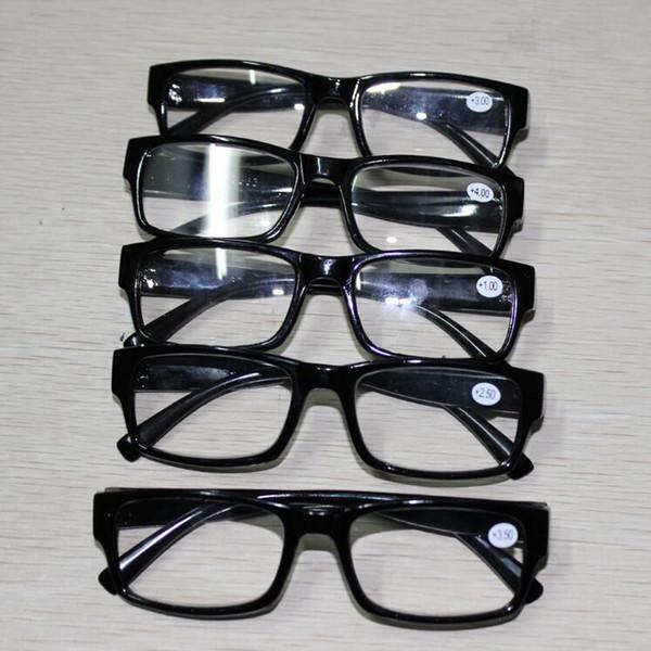 Gafas de lectura de resistencia múltiple Anteojos Espectáculo Presbicia 1.0 1.5 2.0 2.5 3.0 3.5 4.0 Dioptrías Lupa Regalos de Navidad
