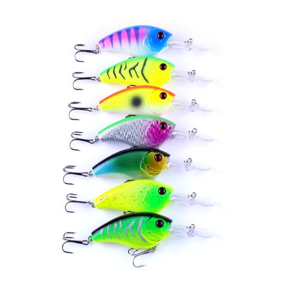 2018 best hot fishing lure 9cm 11.8g pesca hooks fish wobbler tackle crankbait artificial japan hard bait 7pcs free shipping