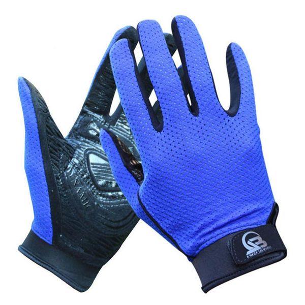 Fitness esterna traspirante dito pieno fitness, guanti da trekking per uomo, donna