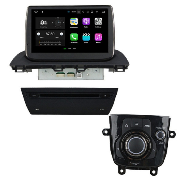 "1024*600 9"" Android 7.1 Car DVD Car Radio GPS Multimedia Head Unit for Mazda 3 Axela 2014 With 2GB RAM Bluetooth 4G WIFI Mirror-link"