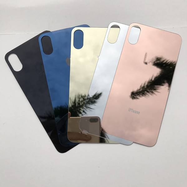 For iphone x 8 Full Body Mirror Sticker Plated Front Screen Protector back Cover film skins for iphone 8 7 6 6s plus iphonex 10 5 iphone X