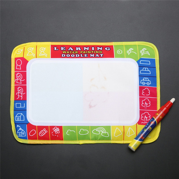 best selling New Mini Water Drawing Board Writing Painting Aquadoodle Board with Magic Pen Water Drawing Mat Kid Doodle Play Mat