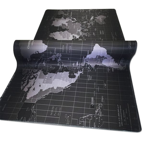 old  Large Size mouse pad computer accessory with high speed easy control nature rubber gaming mouse pad for office