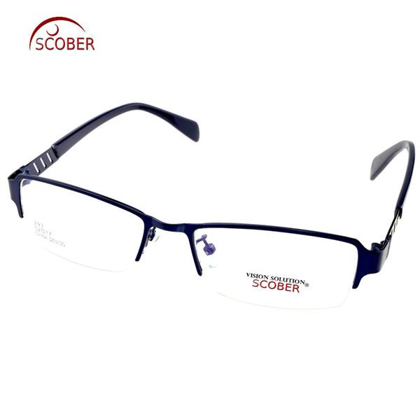 dcc4b03594 Young Blue Eye Frame Titanium Alloy Ultra-light Custom Made Optical Myopia  Reading Glasses Photochromic Progressive multifocal