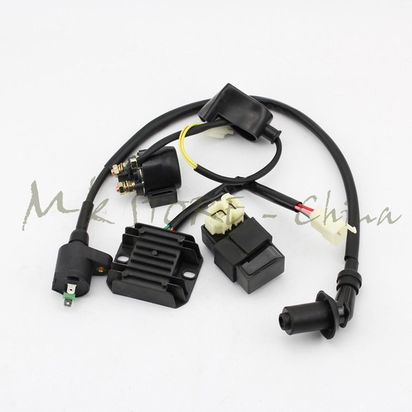 best selling Ignition Coil&CDI UNIT&Regulator&starter relay GY6 PIT Quad Dirt Bike ATV Buggy