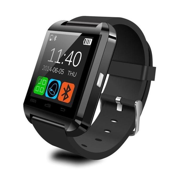 Touch screen degli orologi del polso di Bluetooth U8 della culla della culla per l'orologio astuto del monitor di sonno del telefono di Samsung Android IPhone con il pacchetto al minuto