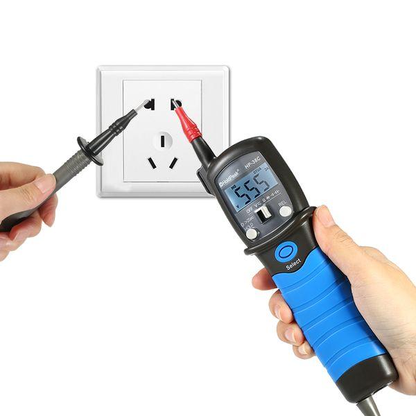 HP-38C Multimeter Auto-range LCD Pen Type Digital Multimeter Voltage Meter Resistance Capacitance Diode Tester Measuring Tools
