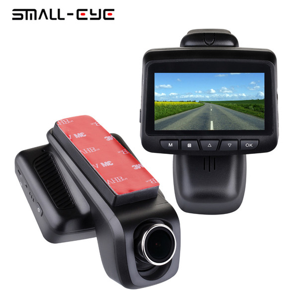 "SMALL-EYE 2.45"" LCD WIFI Car DVR Dash Camera, Mini Hidden Video Driving Recorder Adjustable Lens Full HD, 170 Degree Wide Angle"