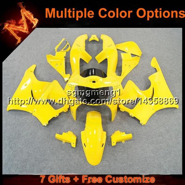Scafo moto 23colors + 8Gifts giallo per HONDA CBR900RR 1998-1999 CBR919RR 98 99 CBR 900 RR Carenatura in plastica ABS