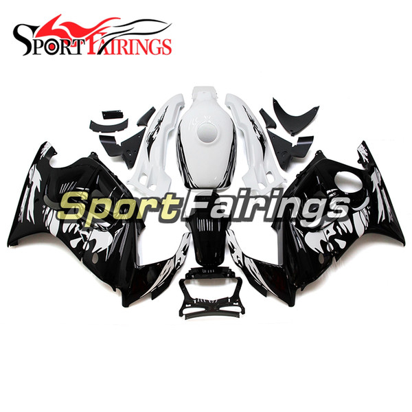 Black White Motorcycles Injection Complete Fairings For Honda CBR600F3 95 96 1995 1996 ABS Plastic Fairing Kit Bodywork New Arrive