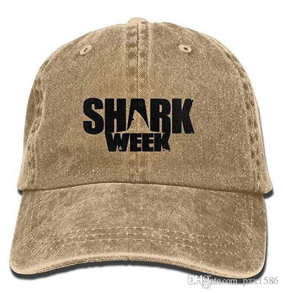 pzx @ Shark Week Vintage Cowboy Gorras De Béisbol Gorras De Camionero