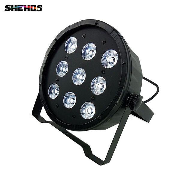 4 шт. / лот 9x12W 4IN1 RGBW светодиодные этап света светодиодные плоские SlimPar Quad может с DMX512 плоский DJ оборудование контроллер Fastfree доставка