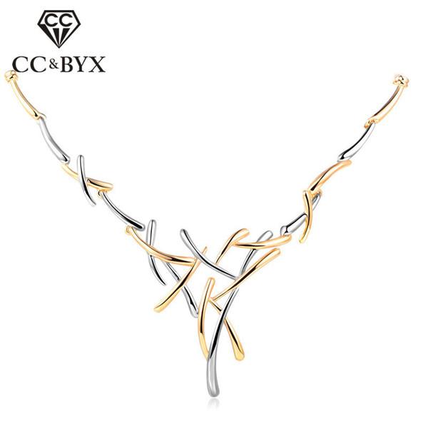 CC Necklaces Pendants Necklace Women For Bridal Wedding Ladies Jewelry Engagement Ensemble Bijoux Femme Solde Accessories CCN123