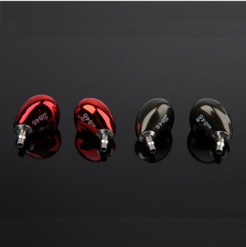 DIY SE846 Maßgeschneiderte HIFI Kopfhörer 6BA Antriebseinheit Moving Iron Kopfhörer High Definition Bass Headset Mit Versilbertem Kabel