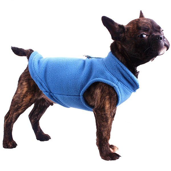 2018 New Small Dogs Dog Vests Pug Tshirt Pet Clothes for Dogs Yorkshire Terrier Costumes Puppy T shirt For Chihuahua French Bulldog