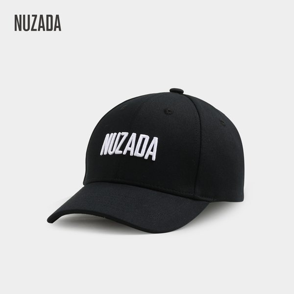 NUZADA New Year's gift baseball cap fashion letter embroidery duck hat breathable sunshade hat men and women Korean version of the hat