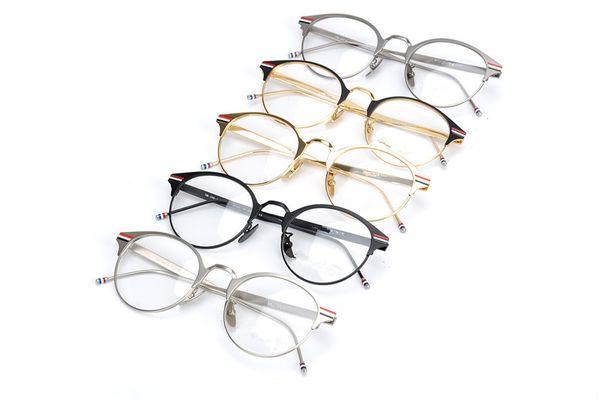 Men Optical Glasses Frame Brand Designer Vintage Eyeglasses Frames for Women Fashion Retro Myopia Glaees Spectacle Frames with Clear Lens
