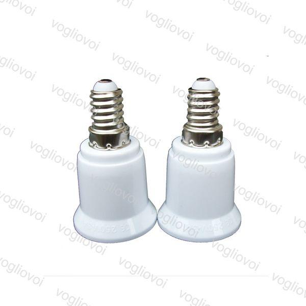 Soporte para lámpara E14 A E27 Adaptador Conector de conversión Material de alta calidad Conector a prueba de fuego Adaptador para lámpara EPACKET