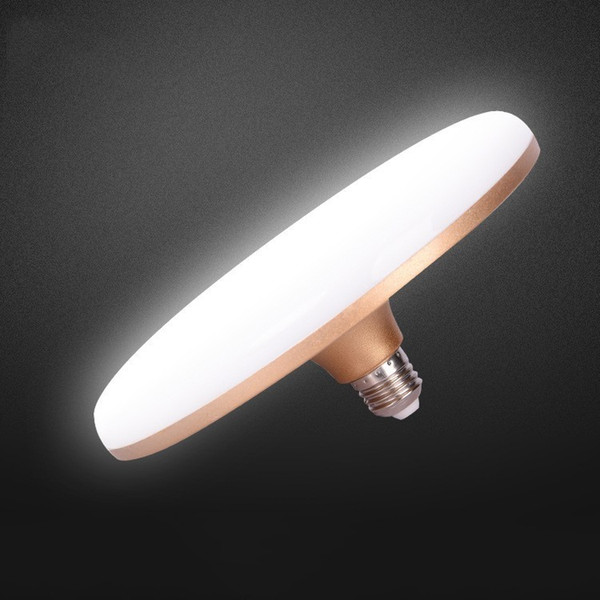 Lâmpada Voadora de Disco Voador Vulgar Tycoon Ouro UFO Lâmpada de Economia de Energia LED de Alta Potência Lâmpada LED Disco Voador Lâmpada de Calor Pino Constante Corrente