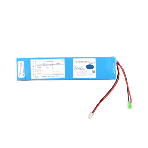 OEM electric skateboard battery 36v best quality Rechargeable 10S4P 18650 lithium ion battery 36v 10ah for e-scooter