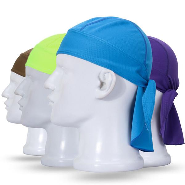 Cappello multifunzionale per equitazione all'aperto Fascia per asciugatura rapida sportivo Fascia traspirante per la protezione solare Sciarpa pirata Supporto FBA Drop Shipping H687F