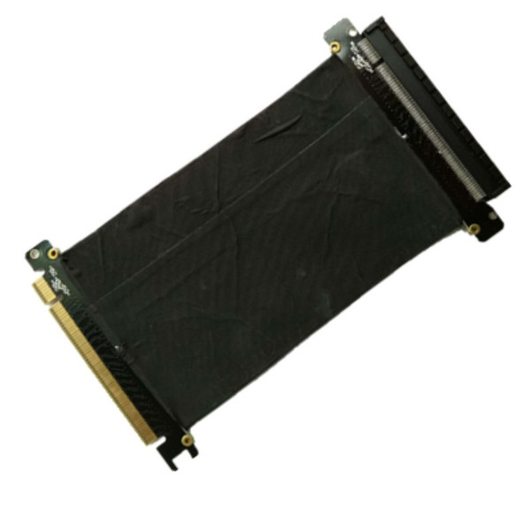 High Speed PCI Express PCI-E 16x Flexible Cable Extension Port Adapter Riser Card Adapter PCIe Riser Extender Cable for Computer