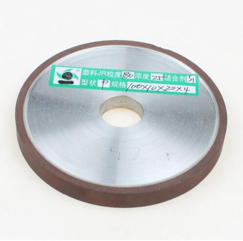 top popular Free shipping 1PCS Brand New 100mm Diamond Grinding Wheel Flat-Shaped Hard Steel Cutter Grinder For Carbide Metal 2021