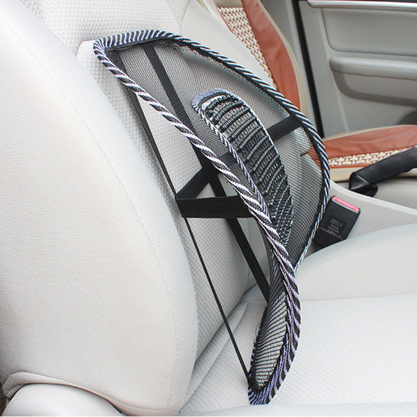 best selling Breathable Ice Silk Driving Car Chair Massage Pad Office Sitting Chair Massage Pad Driving Waist Back Spine Care Massage Padding