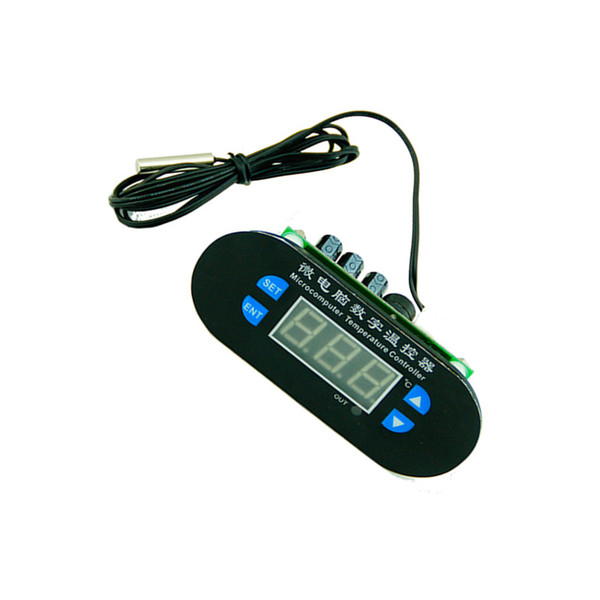 Regulador del termostato de la pantalla LED del controlador de temperatura digital de 12V 10A + sensor de 100CM NTC