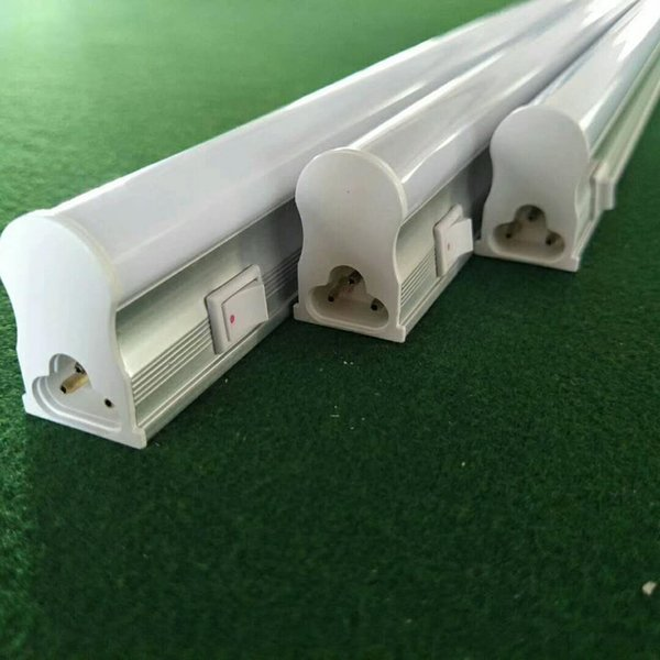 T5 LED Tubes Lights Switch Integrated 4ft 3ft 2ft 1ft AC85-265V PF0.9 18W 1700LM Fluorescent Bulbs Lamps Direct from Shenzhen China Factory