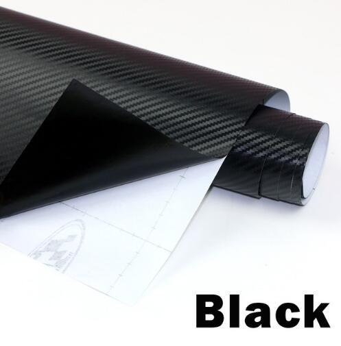 3d filme de vinil de fibra de carbono 3 m carro à prova d 'água diy veículo auto car styling envoltório roll car styling motocicleta
