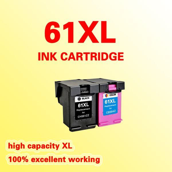 Cartucho de tinta de substituição para HP61 HP61XL DeskJet 1050 2050 2050s 2510 3510 D1010 1510 2540 4500