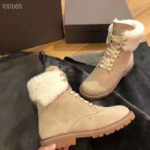 Factory Hot Sale Classical Brand Women popular Australia Genuine Leather Boots High Quality Short Plush Snow Boots Cow Suede Leather Boots