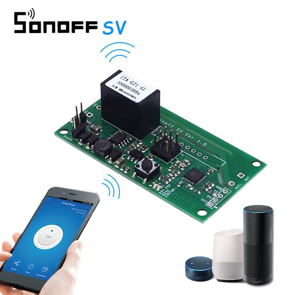 Sichere Spannung DC 5-24V WiFi Wireless Switch SV Modul Timing WLAN