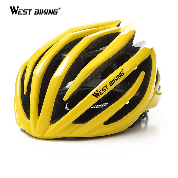 WEST BIKING Bicicletta Ciclismo Caschi Double Layer Ultralight 24 Air Vents In-Mould MTB Casco Bici Ciclismo Casco Bici