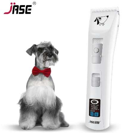 JASE High Power Clipper Dog Grooming Professional Pet Trimmer Clippers Dogs Electric Hair Shaver Rechargeable Animal Haircut