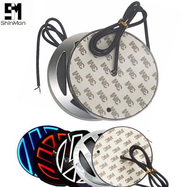 5D Car Emblem light lamp led Rear Badge Sticker light For vw golf 6/magotan/cc/tiguan scirocco led 5D logo Emblems led