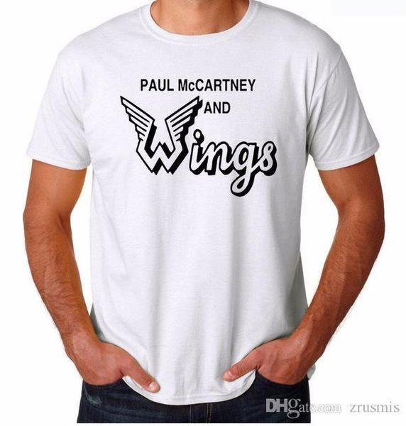 Paul McCartney Free shipping 2015 brand new men's fashion cotton short-sleeve T-shirt t shirt mens