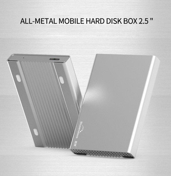 Contenitore per disco rigido in alluminio Contenitore per disco rigido portatile USB 3.0 Custodia rigida per notebook da 2.5