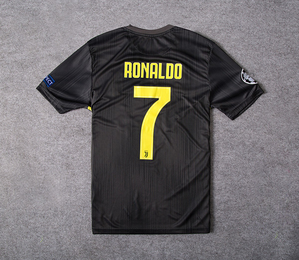 detailed pictures 70764 722a0 2019 Champions League#7 RONALDO Juventus 3rd Soccer Jersey 18/19 DYBALA  Soccer Shirt 2019 MANDZUKIC PJANIC Third Football Uniform Sales S 4XL From  ...