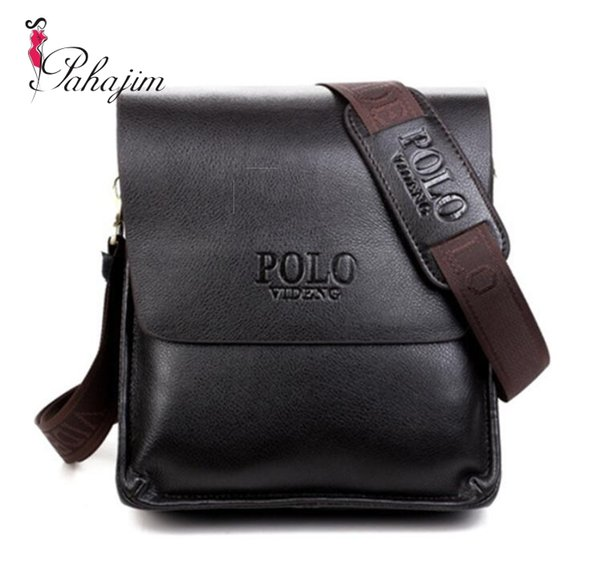 New casual men messenger bag leather bags for men business formal briefcase high quality