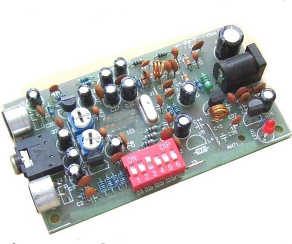 Kit émetteur radio FM de station de radio numérique DIY PLL stéréo BH1417F new B9-007