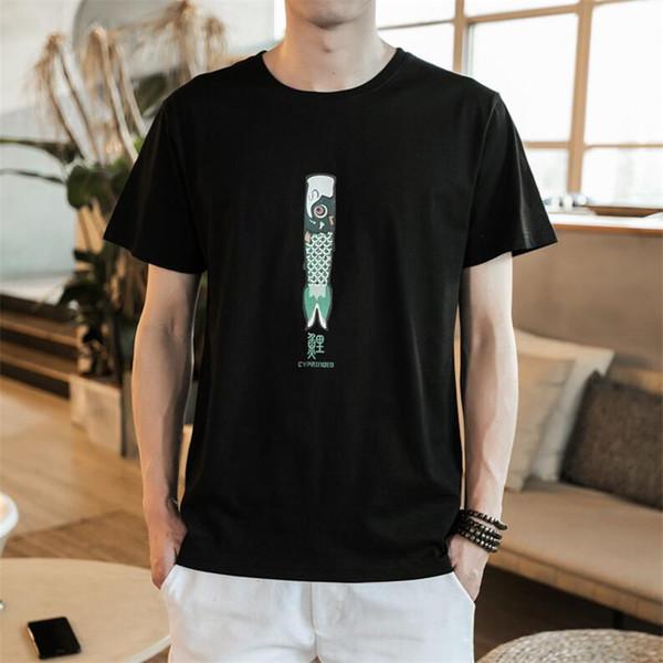 174ff9c0d5a0 Character Print T-Shirt Fashion Casual Fitness Cool O-neck Men's T Shirt  Summer
