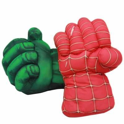 Nuevo Marvel Hot Anime Doll Plush Toy Spiderman Hulk Gloves Peluches Creative Children Gifts 2 Estilo que puedes elegir