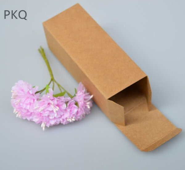 5.31 Small Kraft Paper Lip Stick Box for Lipstick Essential Oil Perfume Sprays Sample Bottle Party Favor Box