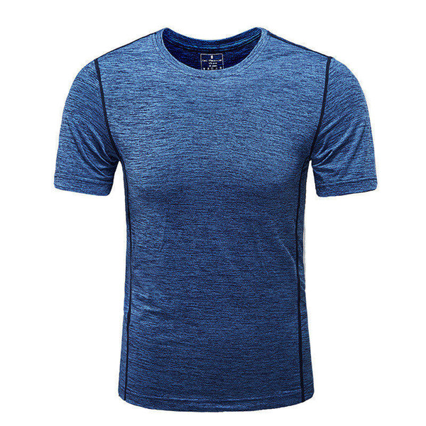 Men Tshirts Gyms Tight T-shirt Fitness Summer Tops O Neck Fashion Big Plus Size Short Sleeve Tees Breathable T Shirts