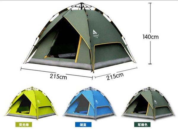 Wholesale- CONTOOSE 2 Person Hiking Tent Pro 20D Silicone Fabric Wateproof Single Pole Light Tent NH Camping Cycling Backpacking 4 Season