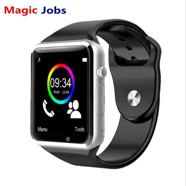 Magic_jobs a1 smart watch mit passometer kamera sim karte anruf smartwatch für huawei xiaomi htc android phone besser als gt08 dz09
